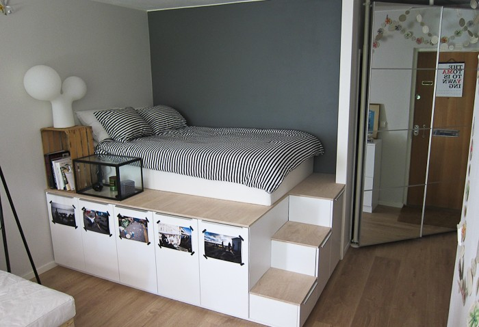 lit deux personnes chez ikea. Black Bedroom Furniture Sets. Home Design Ideas