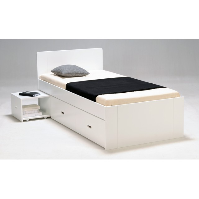 lit pliant une place lit pliant 1 place avec matelas 80x190cm kio lit d 39 une personne pliant. Black Bedroom Furniture Sets. Home Design Ideas