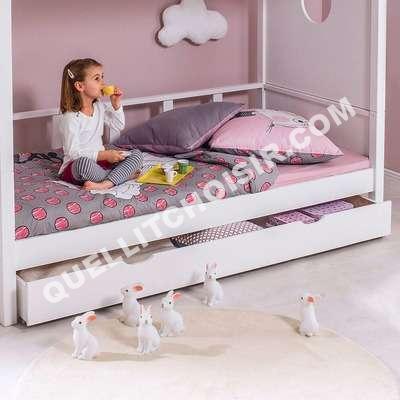 lit une personne avec tiroir de rangement. Black Bedroom Furniture Sets. Home Design Ideas