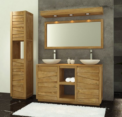 meuble bas de salle de bain sans vasque. Black Bedroom Furniture Sets. Home Design Ideas