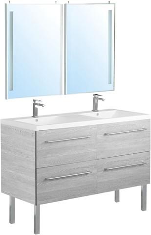 meuble salle de bain double vasque bricoman
