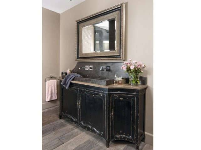 meuble salle de bain retro chic avec les meilleures. Black Bedroom Furniture Sets. Home Design Ideas