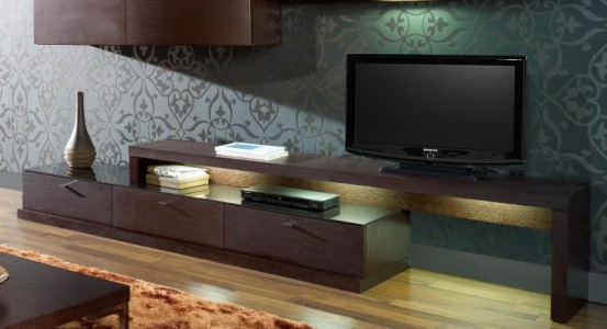 Meuble tv design italien for Meubles italiens contemporains
