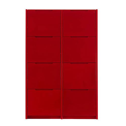 meuble chaussure ikea rouge. Black Bedroom Furniture Sets. Home Design Ideas