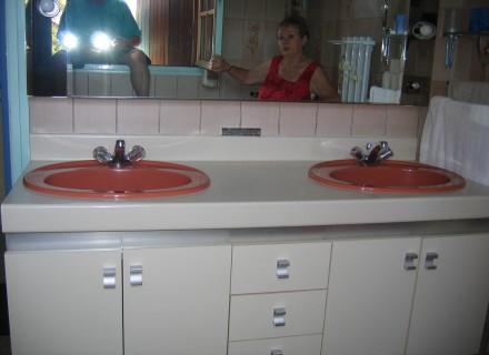 modèle meuble salle de bain occasion