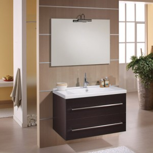 exemple meuble salle de bain wenge. Black Bedroom Furniture Sets. Home Design Ideas