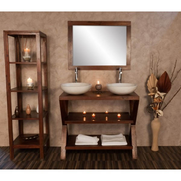 meuble salle de bain zen. Black Bedroom Furniture Sets. Home Design Ideas
