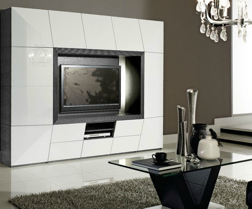 meuble tv haut de gamme. Black Bedroom Furniture Sets. Home Design Ideas