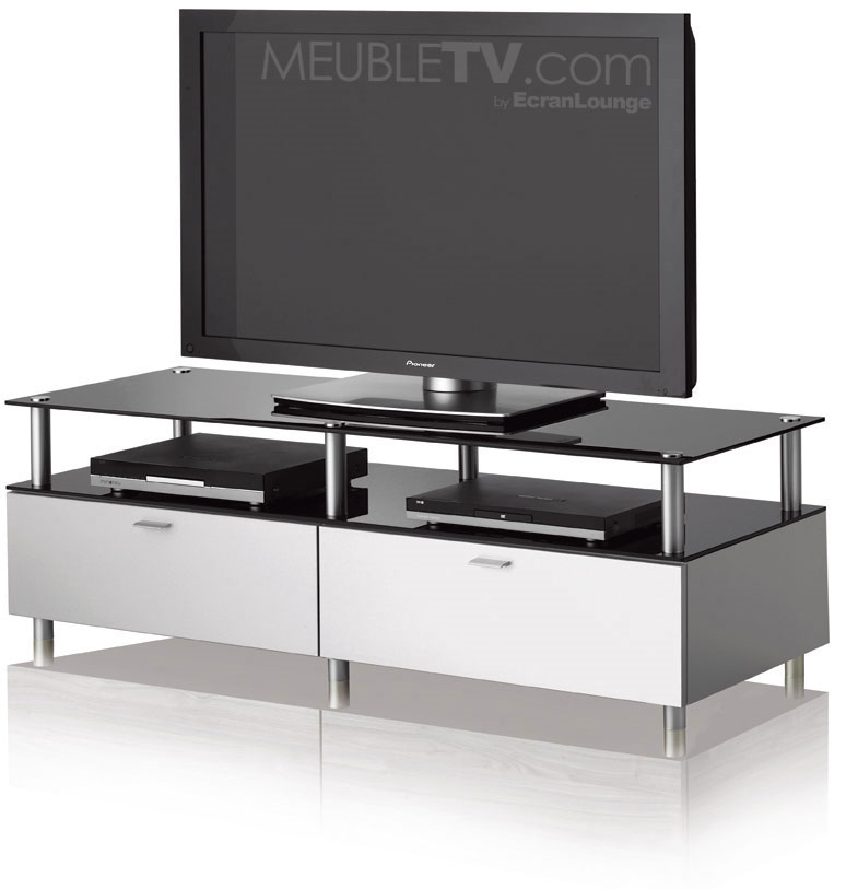 meuble tv assez haut. Black Bedroom Furniture Sets. Home Design Ideas