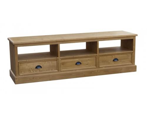 meuble tv bas chene massif. Black Bedroom Furniture Sets. Home Design Ideas