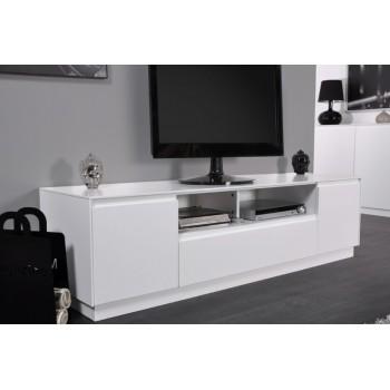 meuble tv blanc laque haut solutions pour la d coration int rieure de votre maison. Black Bedroom Furniture Sets. Home Design Ideas