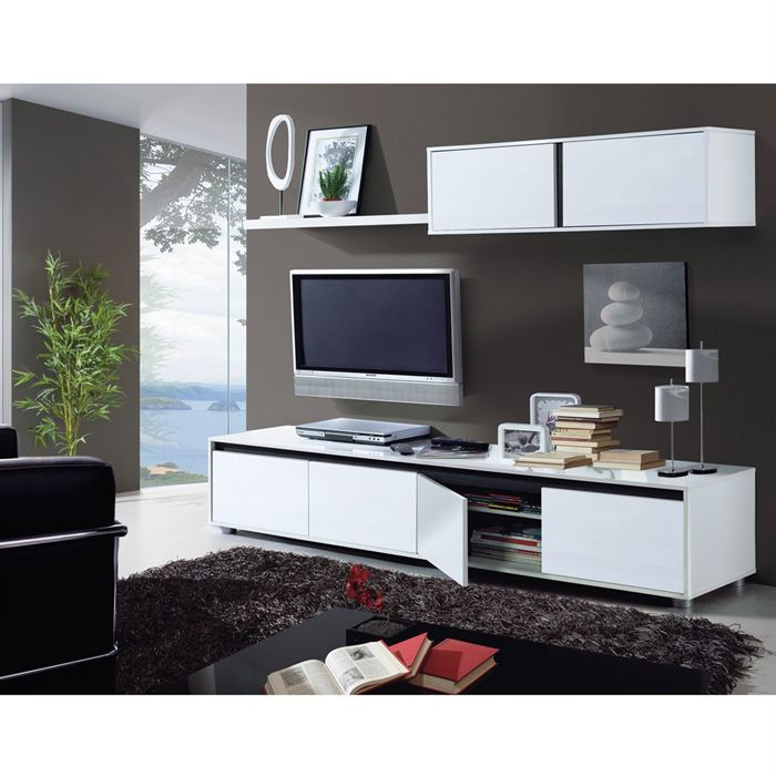 meuble tv a roulette pas cher – Artzeincom -> Meuble Tv Haut Design Pas Cher