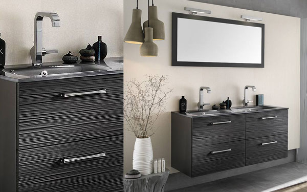 exemple meuble vasque delpha unique. Black Bedroom Furniture Sets. Home Design Ideas