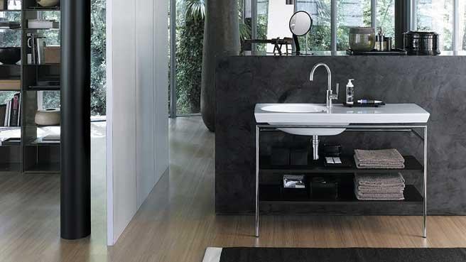 meuble vasque industriel. Black Bedroom Furniture Sets. Home Design Ideas