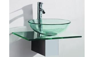 Trouver Meuble Vasque Verre