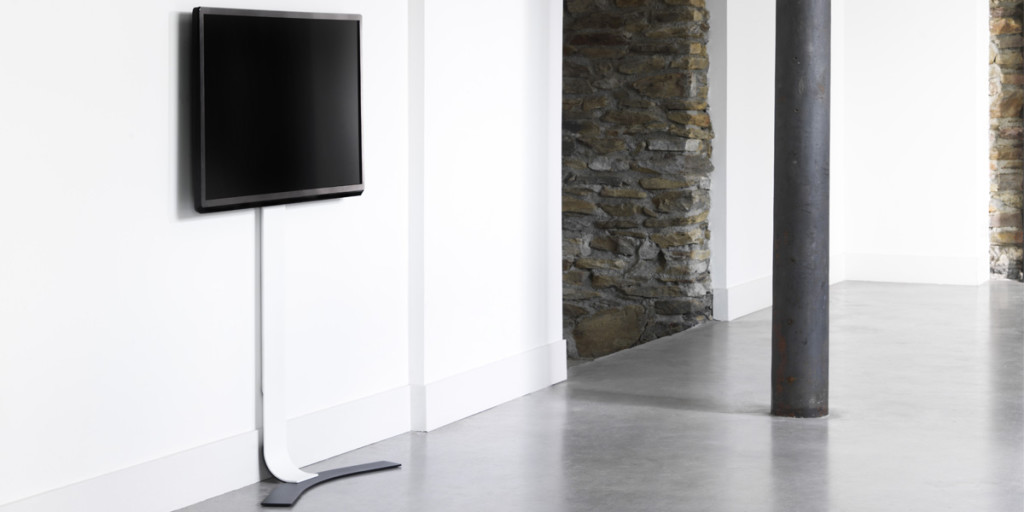 Support mural tv avec pied - Table tv avec support ...