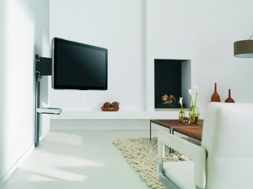 support mural tv orientable. Black Bedroom Furniture Sets. Home Design Ideas
