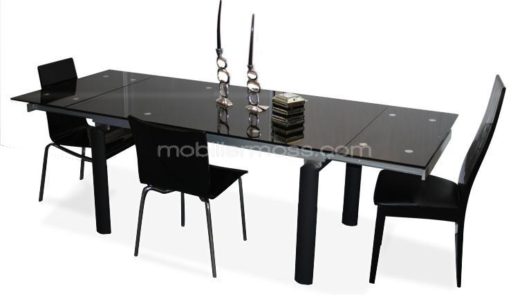 table a manger avec rallonge. Black Bedroom Furniture Sets. Home Design Ideas
