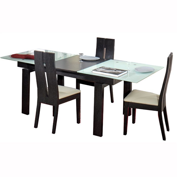 Table a manger avec rallonge for Table a manger 160 cm avec rallonge