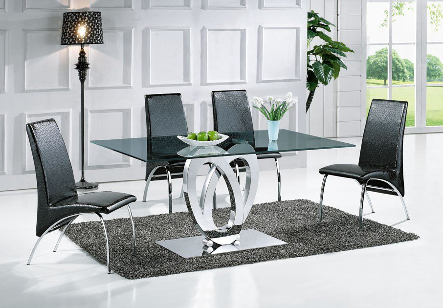exemple table a manger design italien