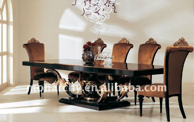 table de salle a manger design italien. Black Bedroom Furniture Sets. Home Design Ideas