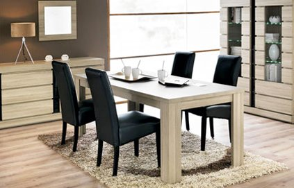 exemple table a manger fly. Black Bedroom Furniture Sets. Home Design Ideas