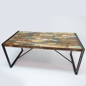 Table a manger industrielle - Table industrielle pas cher ...