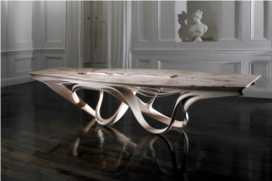 Table a manger originale for Table salle manger originale