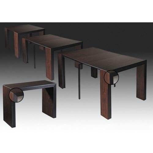 Best Table Console Extensible Wengé Gallery - Transformatorio.us ...