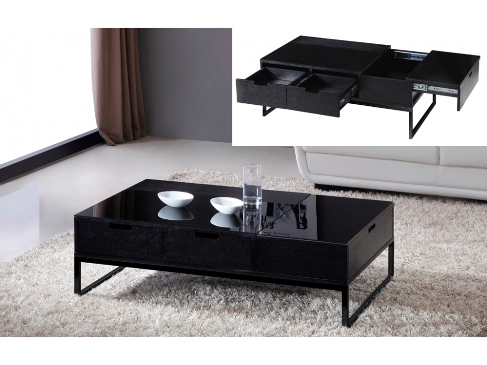 table basse avec rangement bar. Black Bedroom Furniture Sets. Home Design Ideas
