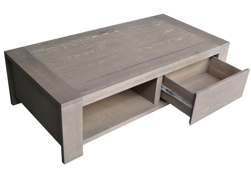 Table basse avec rangement - Table basse personnalisee photo ...