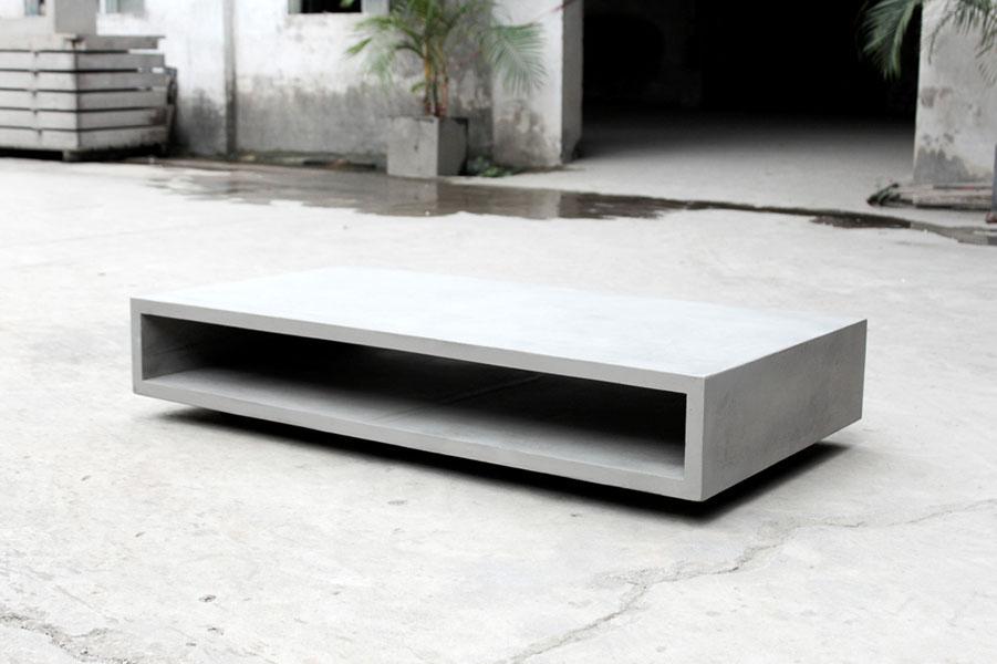 table basse beton. Black Bedroom Furniture Sets. Home Design Ideas