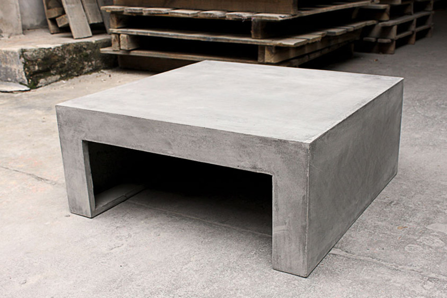Preview - Table basse imitation beton ...