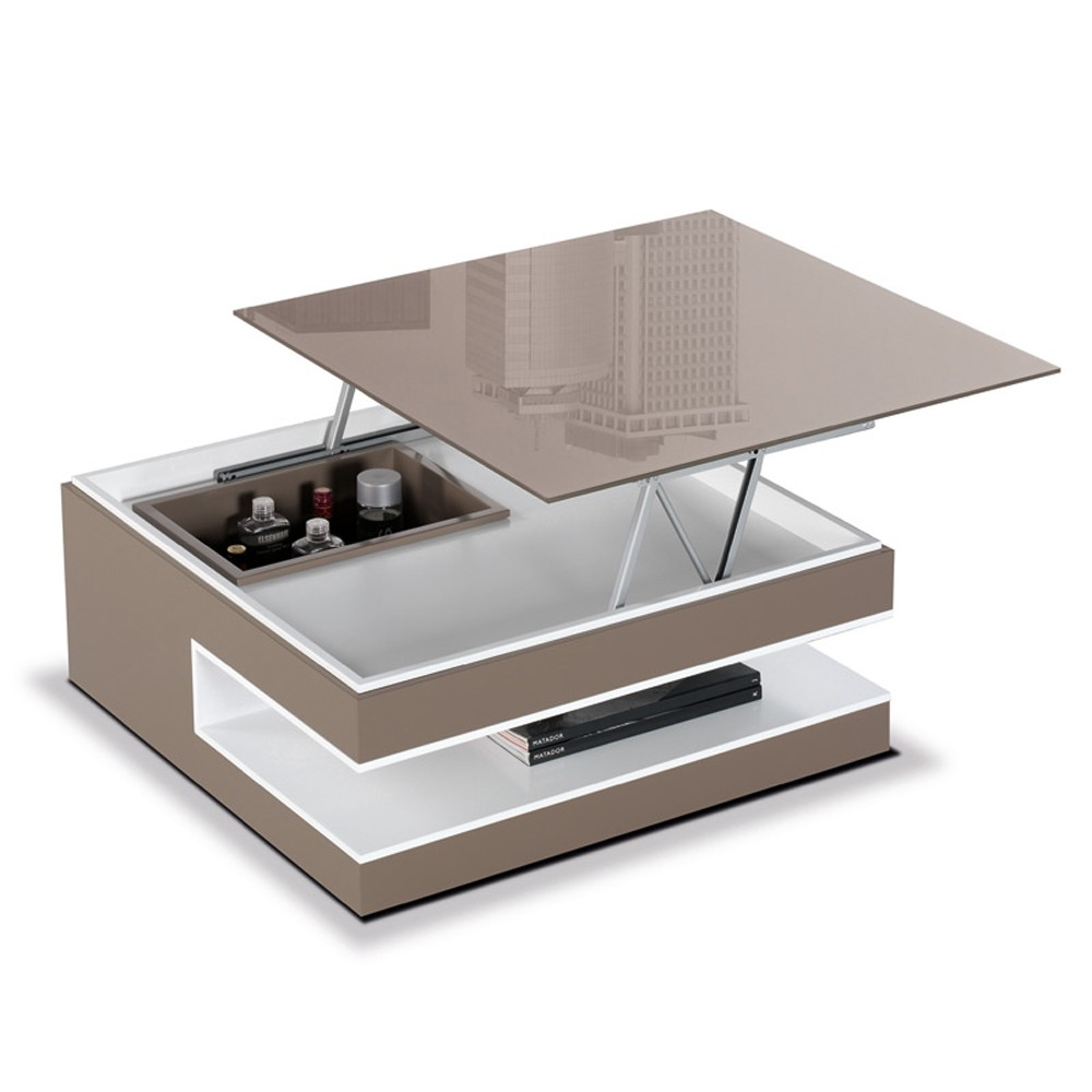 Table basse convertible - Table de salon convertible ...