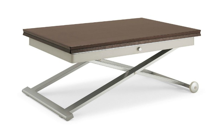 Table de salon convertible table salon convertible sur - Table basse convertible en table haute ...