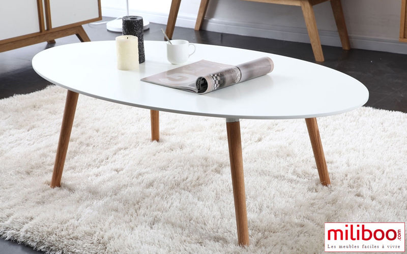 table basse ovale blanche fabulous table basse table basse en verre tremp ovale opunake with. Black Bedroom Furniture Sets. Home Design Ideas