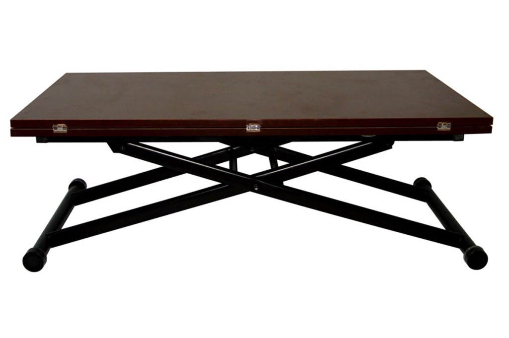 Table basse pliante - Table basse transformable table haute ...