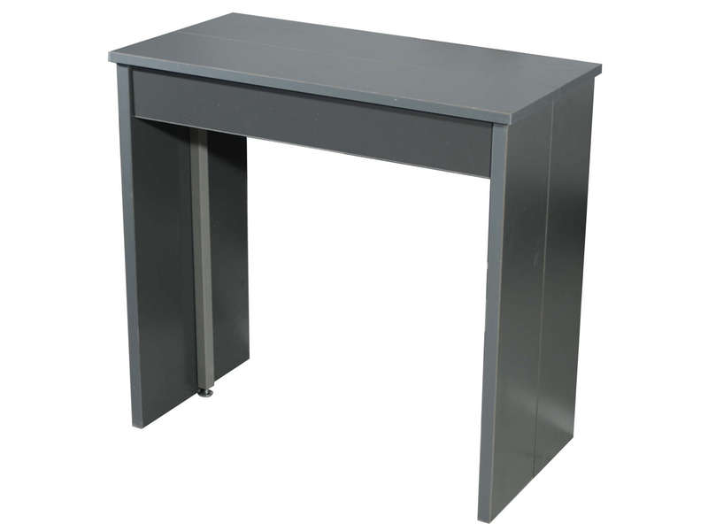 Table console pliante conforama for Chaises noires conforama