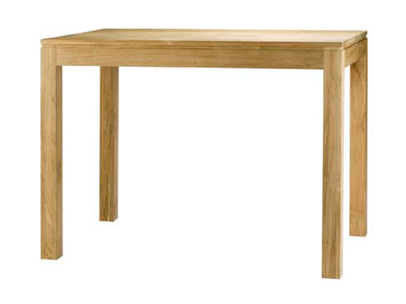 Table de bar haute bois for Table de cuisine bar haute