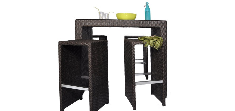 table de bar exterieur pas cher. Black Bedroom Furniture Sets. Home Design Ideas
