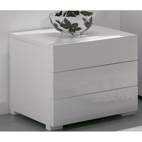 Table rabattable cuisine paris table de chevet laque blanc - Table de chevet cuir blanc ...