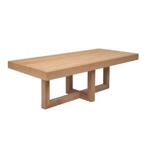 Table de salle a manger en bois for Table salle a manger 8 places