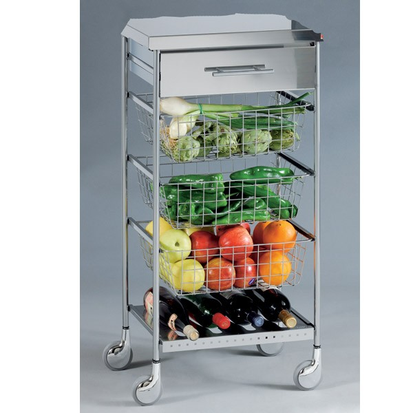 Desserte inox cuisine conceptions de maison for Table inox cuisine