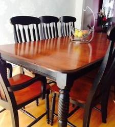 table et chaise de cuisine kijiji