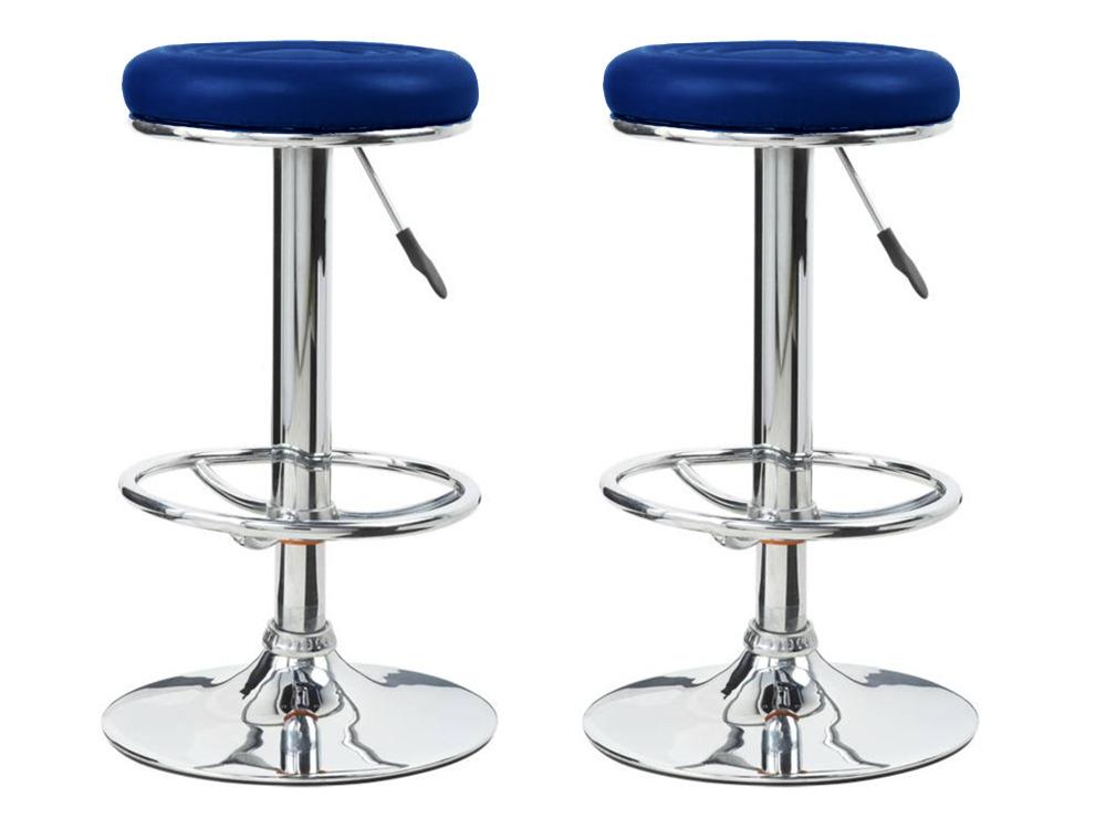 Modele Tabouret De Bar Bleu