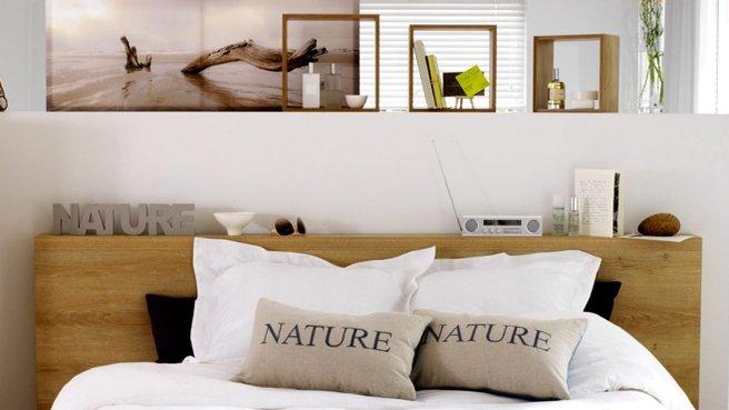 Tete de lit bois brut - Modele tete de lit en bois ...