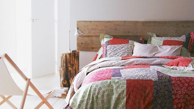 tete de lit bois brut. Black Bedroom Furniture Sets. Home Design Ideas