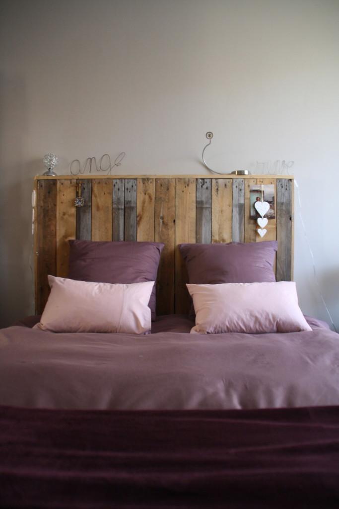 tete de lit en bois brut a peindre photos de conception. Black Bedroom Furniture Sets. Home Design Ideas