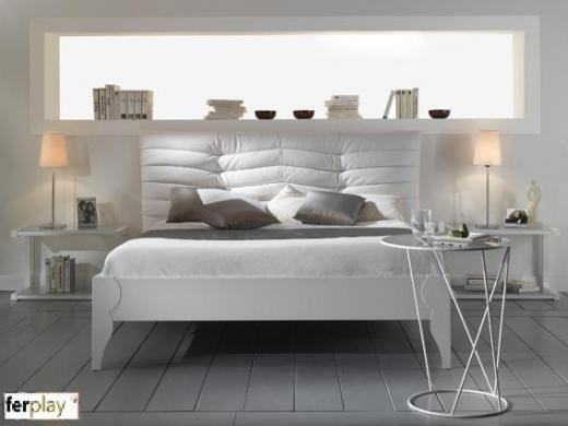 Photo tete de lit contemporaine - Construire tete de lit ...