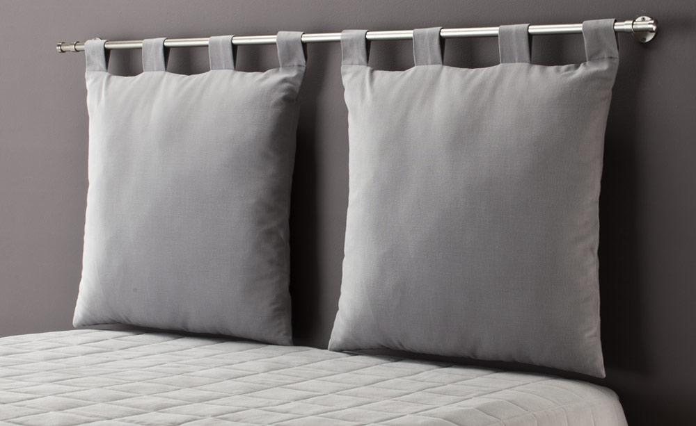 Tete de lit dehoussable for Housse de tete de lit